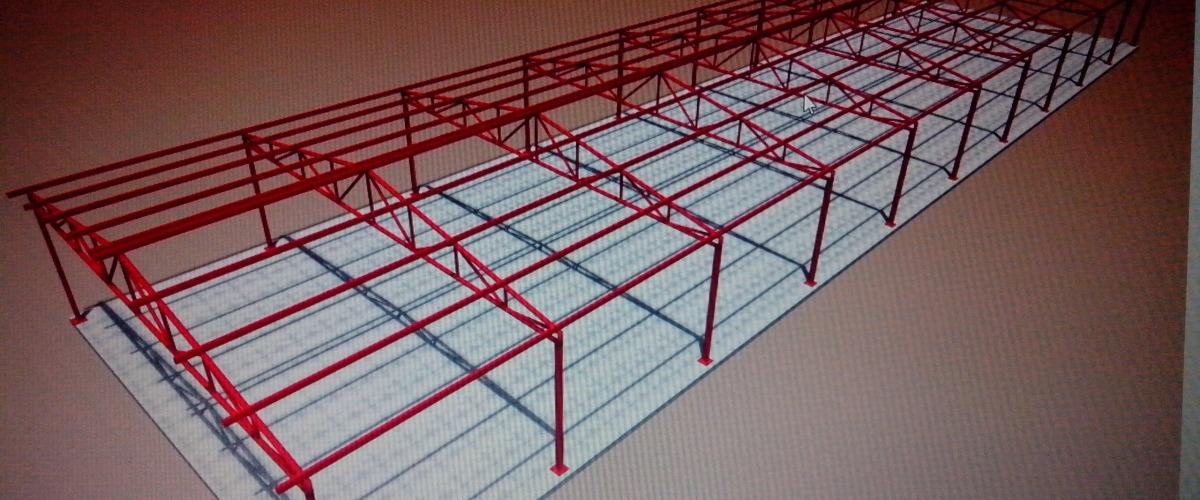 Konstrukcija hale 2